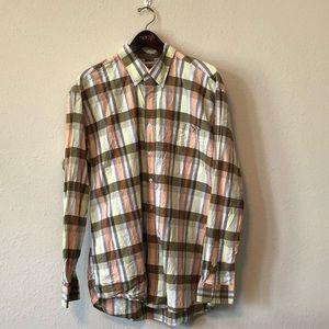 Cinch Western Shirt Button Down Men's size L